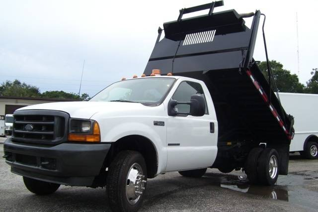 2001 Ford F550  Contractor Truck