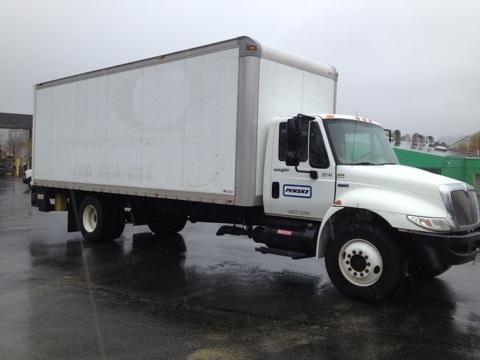 2008 International Durastar 4300  Box Truck - Straight Truck