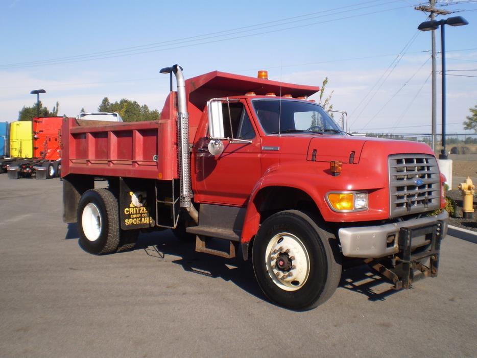 1995 ford dump truck vehicles for sale. Black Bedroom Furniture Sets. Home Design Ideas