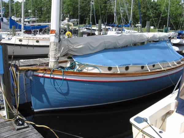1928 Brown Boat Building CO Cat boat
