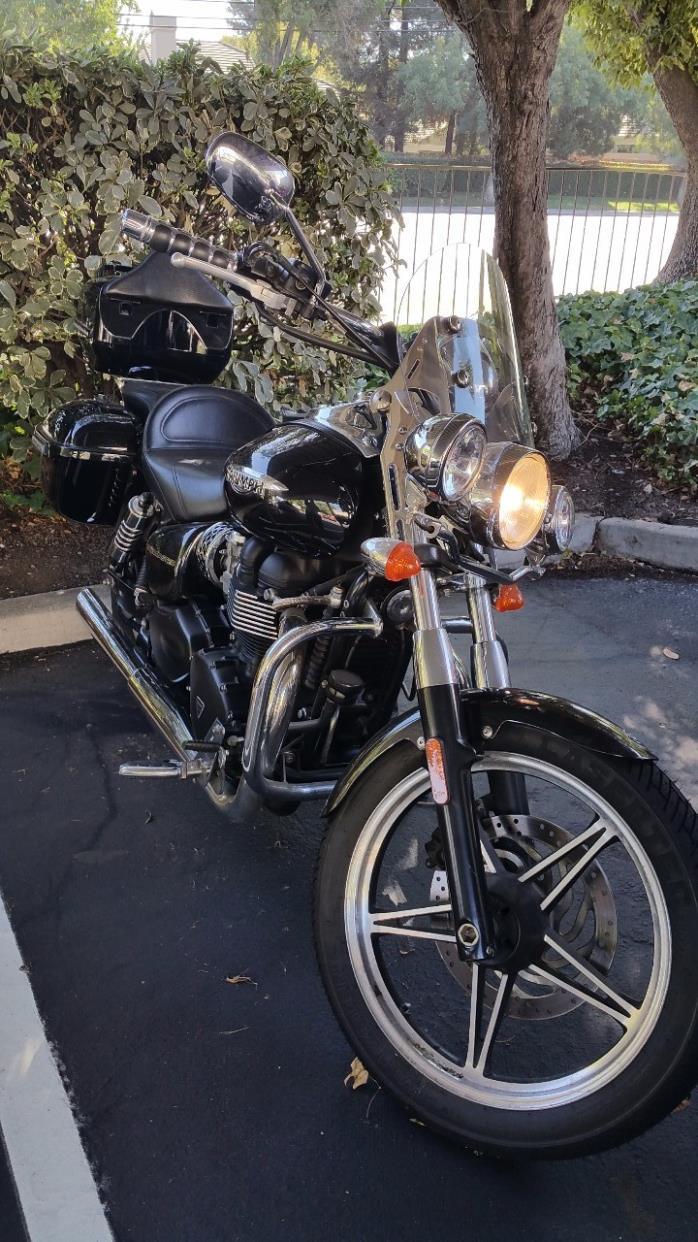 2011 triumph bonneville t100 motorcycles for sale. Black Bedroom Furniture Sets. Home Design Ideas