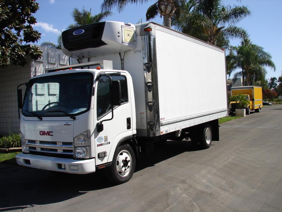 2009 Gmc W5500 Hd Refrigerated Truck