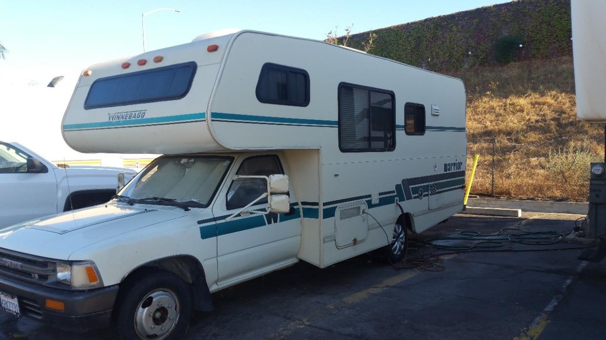 Unique Used RVs 1992 Toyota Winnebago Warrior For Sale By Owner