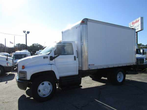 2008 Gmc C6c042 Box Truck - Straight Truck