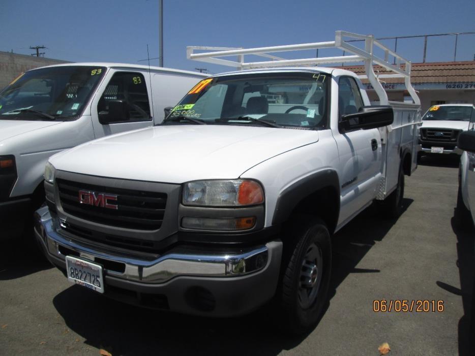 2007 Gmc 2500hd  Mechanics Truck