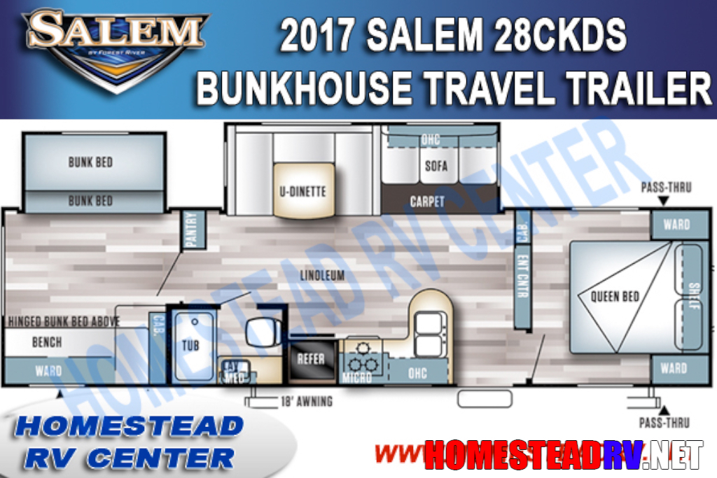 2017 Salem 28CKDS SALEM