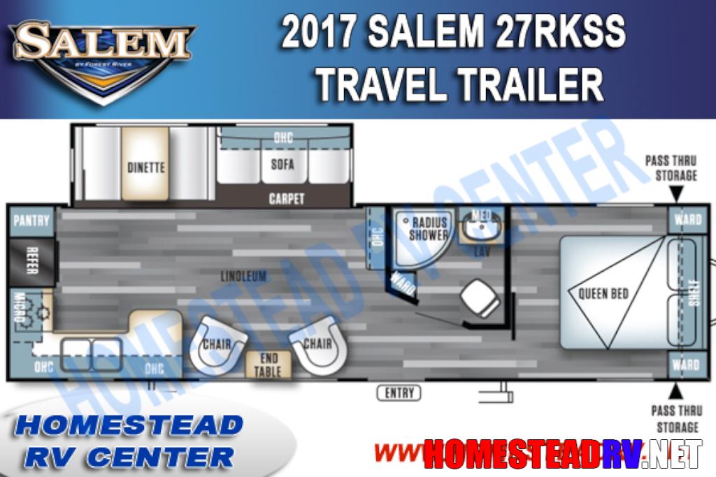 2017 Salem 27RKSS SALEM