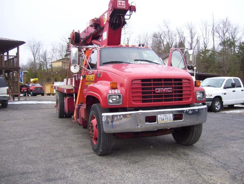 1998 Gmc C7500 Crane Truck