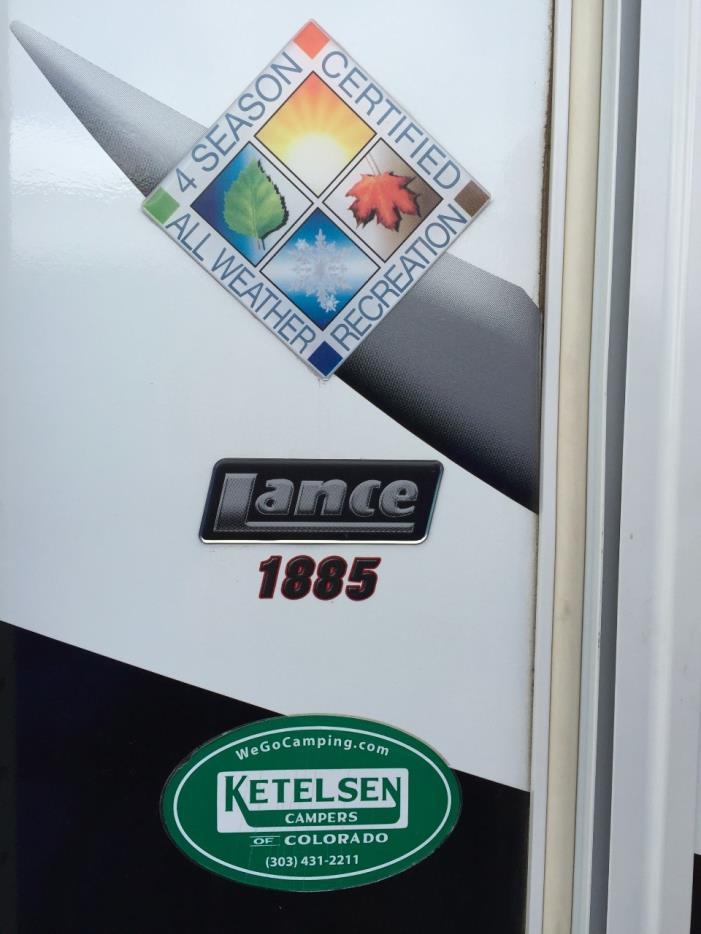2014 Lance 1885