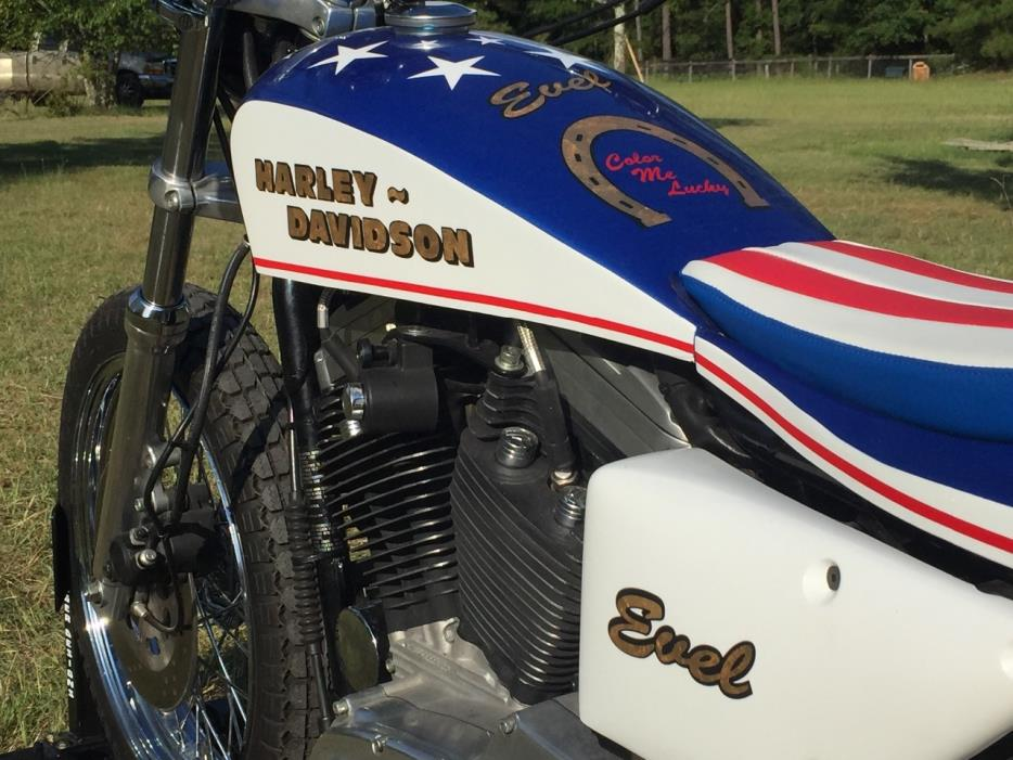 1999 Harley Davidson Sportster Evel Knievel Tribute: Knievel Vehicles For Sale
