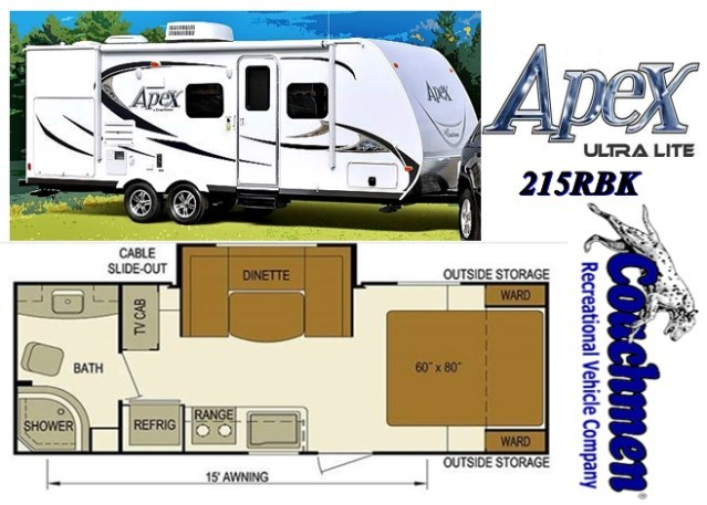 2013 Coachmen Apex 215 RBK