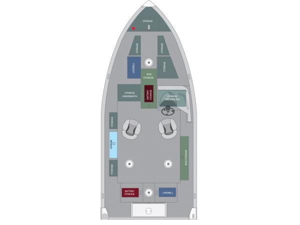 2016 Alumacraft Competitor 175 CS