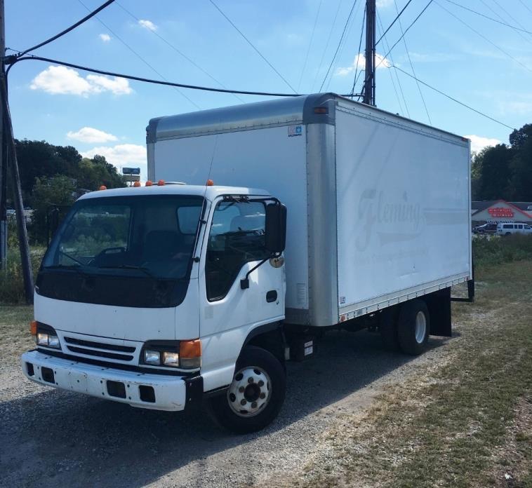 2005 Isuzu Npr Box Truck - Straight Truck