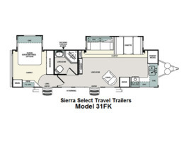 2012 Forest River Sierra Select 31FK