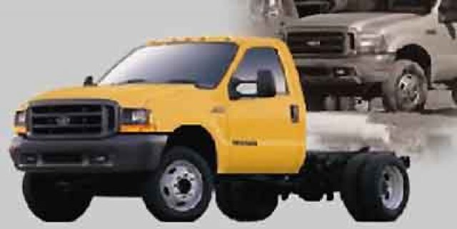 2002 Ford F550  Cab Chassis