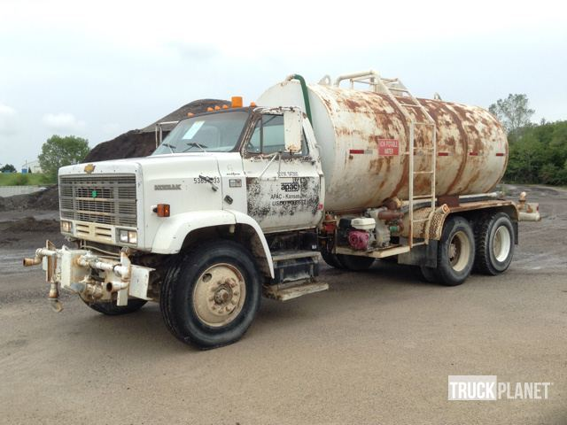 1986 Chevrolet Kodiak Water Truck