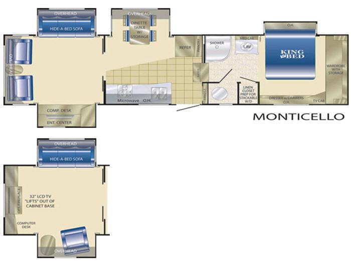 Heartland Landmark Monticello Rvs For Sale