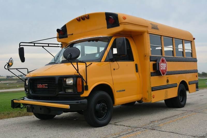 2002 Gmc 3500 21 Pass. School Bus  Bus