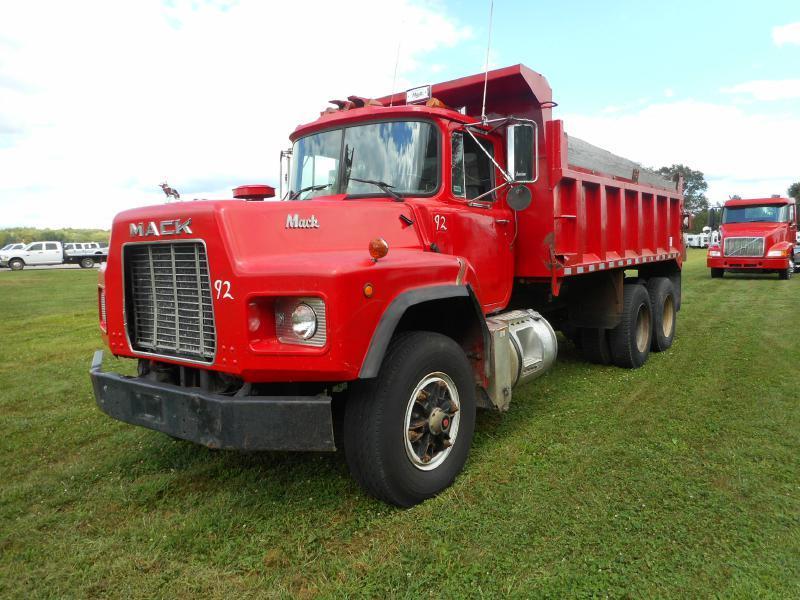 1992 Mack Rb690s Dump Truck