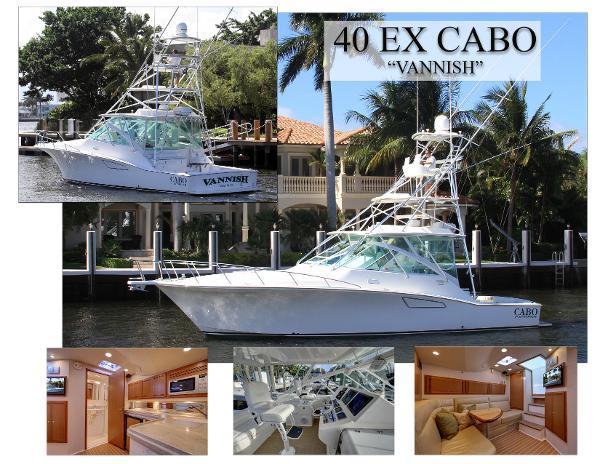 2010 Cabo Yachts 40 EXPRESS