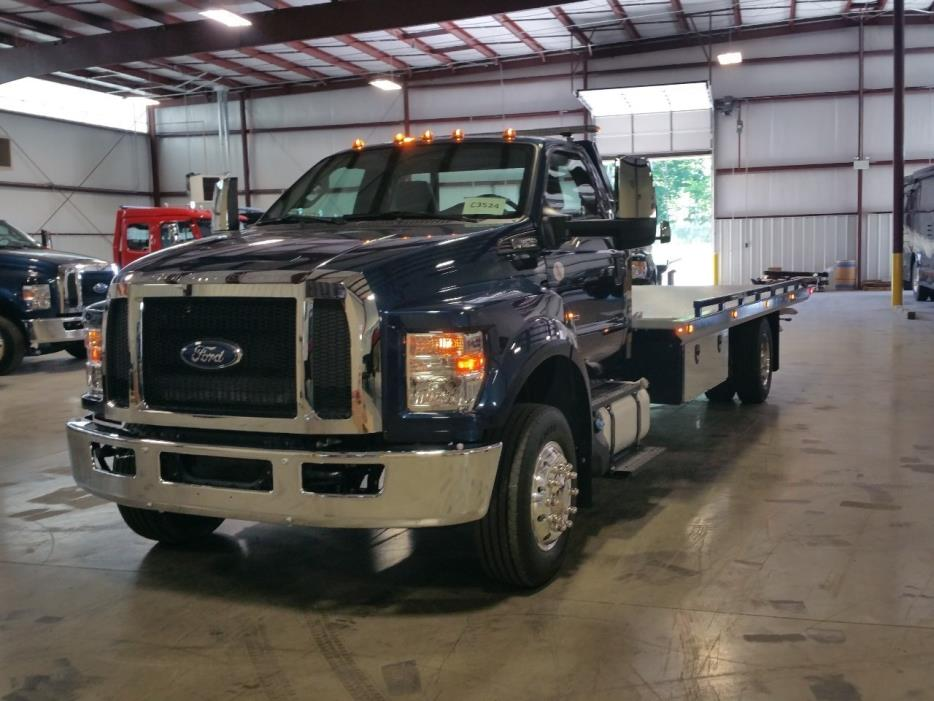 2016 Ford F650  Rollback Tow Truck