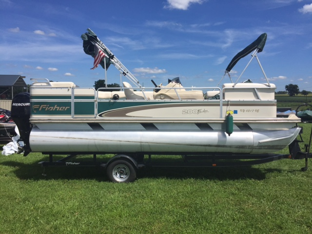 2000 Fisher Boats 200 DLX Freedom