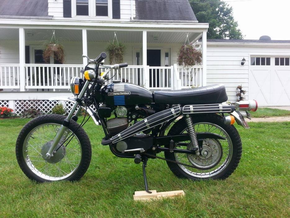 1973 harley 125 motorcycles for sale. Black Bedroom Furniture Sets. Home Design Ideas
