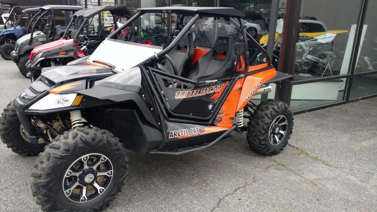 Utv inc arctic cat wildcat opening removable doors.