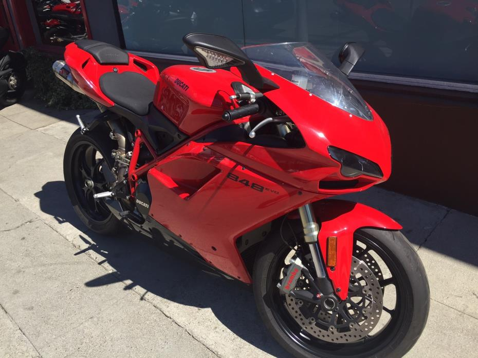 ducati 848 evo motorcycles for sale in los angeles california. Black Bedroom Furniture Sets. Home Design Ideas