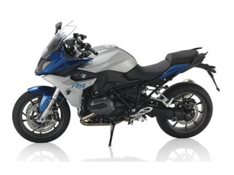 2016 BMW R 1200 RS Lupin Blue / Light Grey Metall