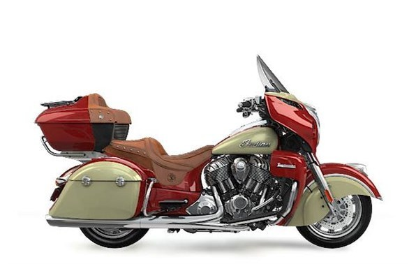 2017 Indian Chieftain Wildfire Red Over Thunder Blac