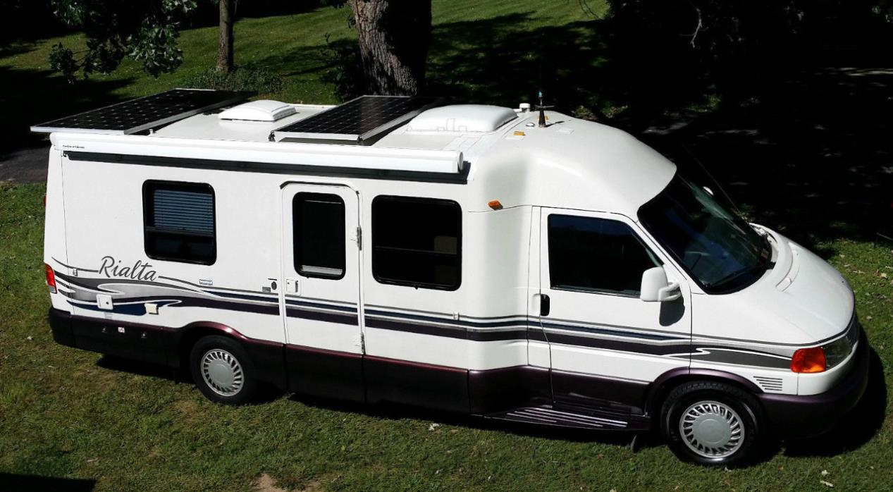 winnebago rialta rvs for sale in california. Black Bedroom Furniture Sets. Home Design Ideas