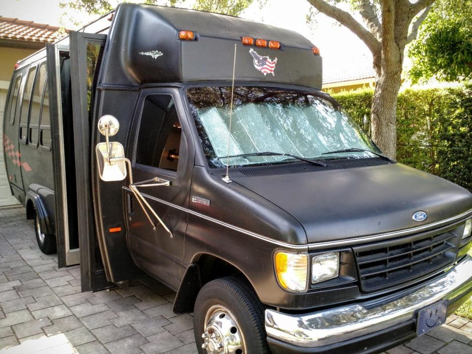 1996 Ford E350 BOX VAN