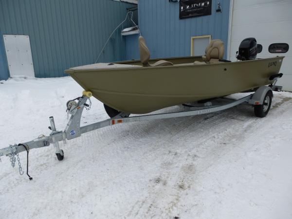 2017 Lund 1600 Alaskan Tiller