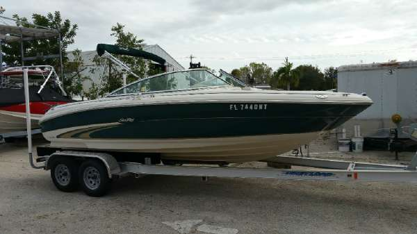 2001 Sea Ray SE RAY 190 SUN DECK SIGNATURE