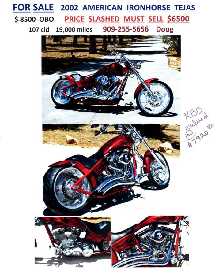 2003 American Ironhorse LEGEND