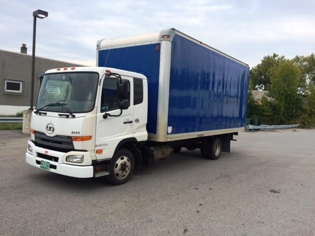 2011 Nissan Ud2000 Box Truck - Straight Truck