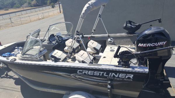 Crestliner 1700 Super Hawk Boat - WIRING DIAGRAMS • on
