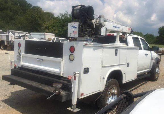2014 Dodge Ram 4500 Crane  Utility Truck - Service Truck