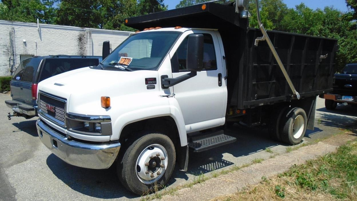 topkick duty sale for chassis trucks medium gmc cab truck