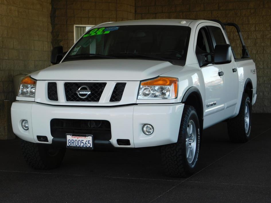 2008 Nissan Titan Pro4x Pickup Truck