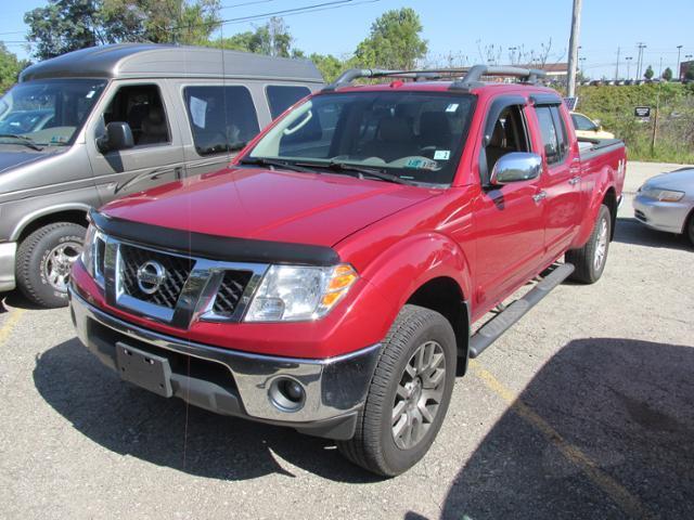 2011 Nissan Frontier Sl Pickup Truck