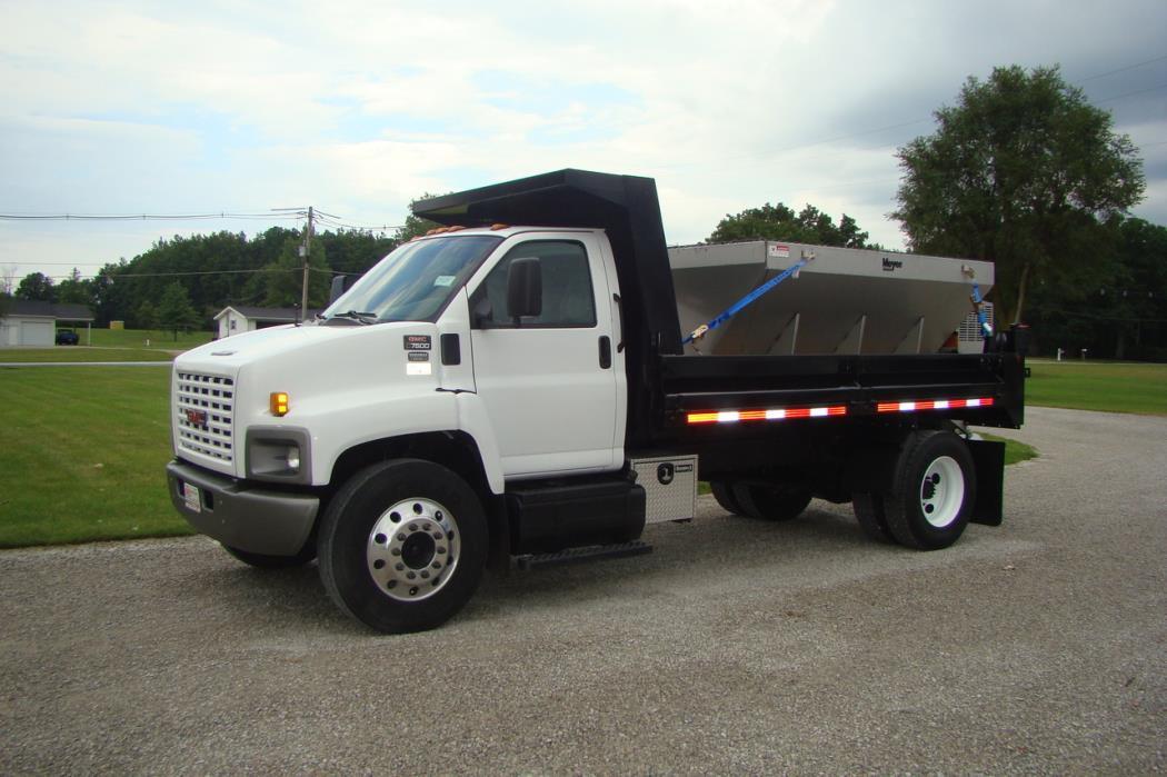 2006 Chevrolet C7500 Plow Truck - Spreader Truck