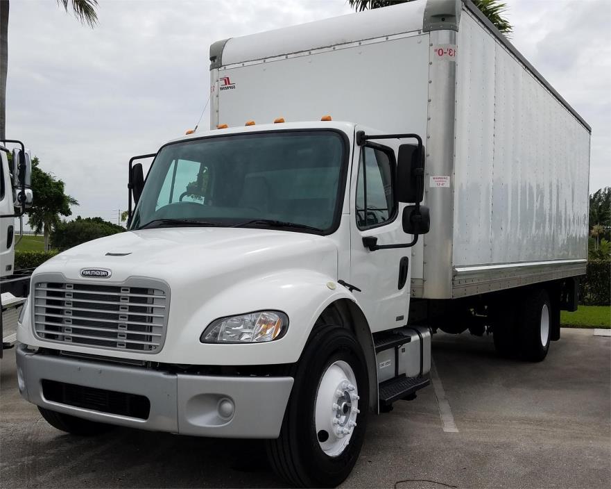 2012 Freightliner Business Class M2 106  Box Truck - Straight Truck