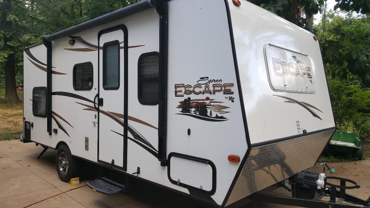 K Z Spree Escape 196s Rvs For Sale