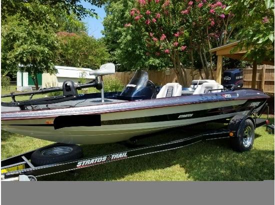 1996 Stratos 278 super v hull