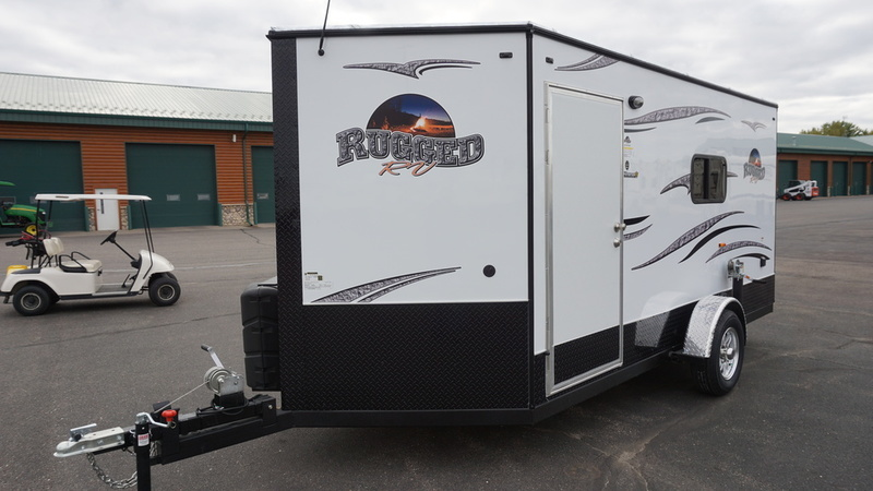 2017 Ice Castle Fish Houses Rugged RV 6.5X14V