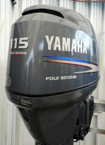 2002 YAMAHA F115hp 25