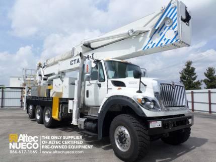 2012 International Workstar 7600 Bucket Truck - Boom Truck