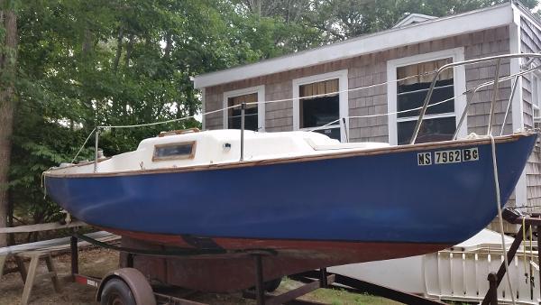1979 Able 20 sloop